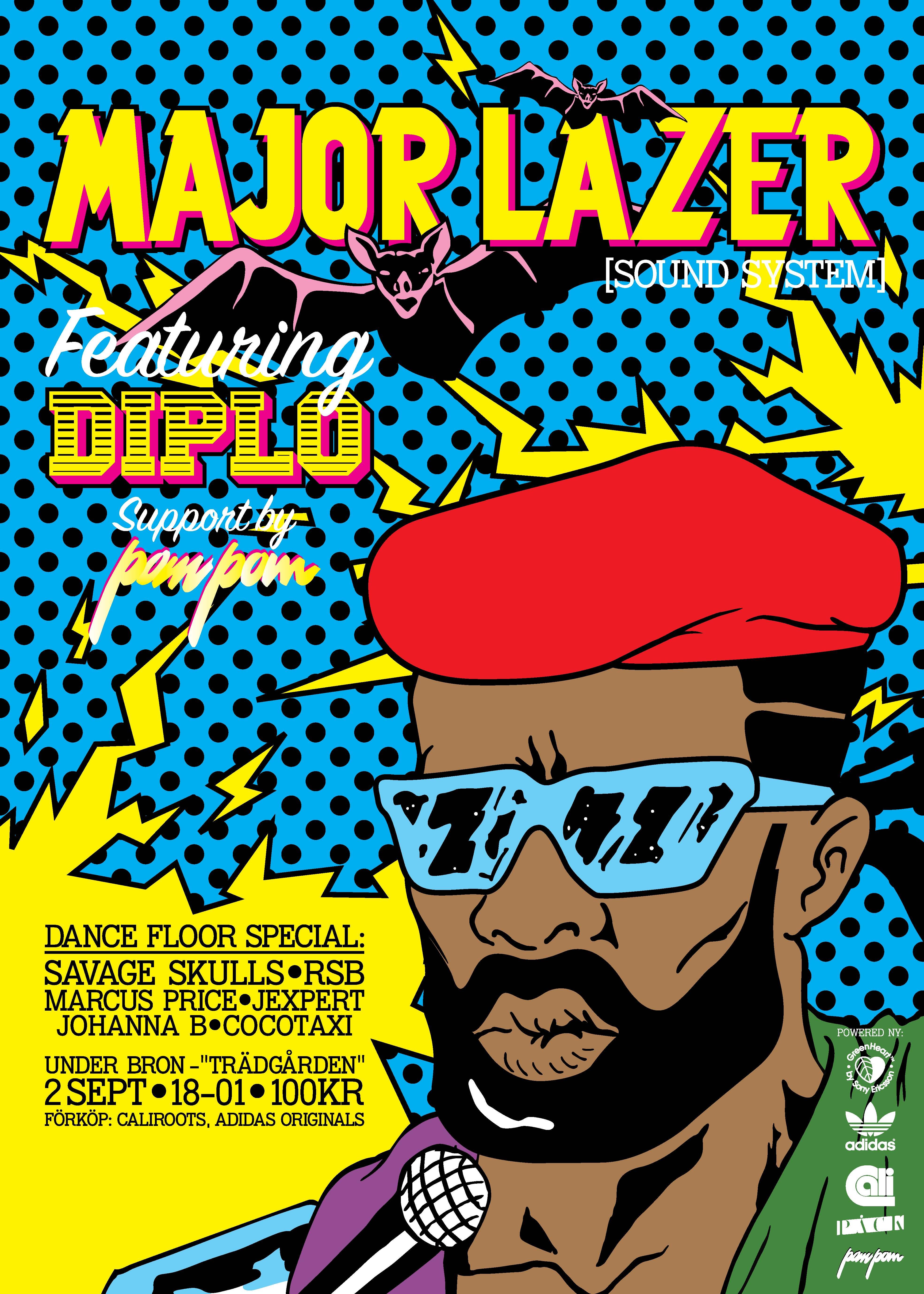 Major Lazer | DJ Agge